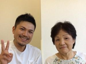 患者さまと 富田さま 1