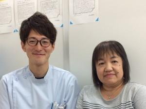 患者さまと遠藤先生 新井さん2